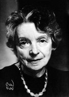 Portrait de Nelly Sachs